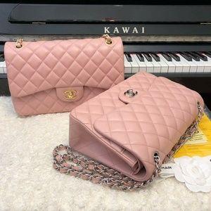 Chanel Classic Flap bag Check description